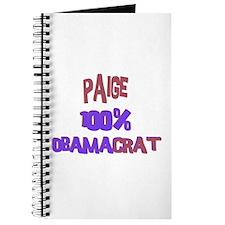 Paige - 100% Obamacrat Journal