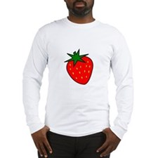 Cute Strawberry Long Sleeve T-Shirt