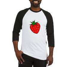 Cute Strawberry Baseball Jersey