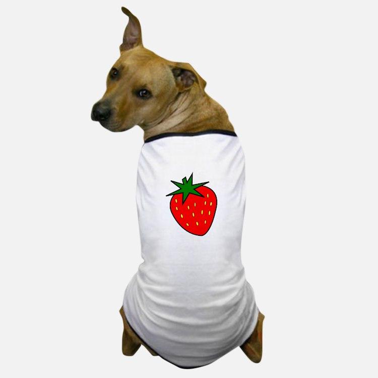 Cute Strawberry Dog T-Shirt