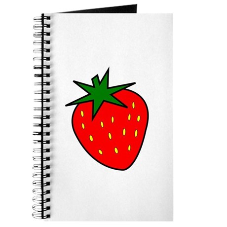 Cute Strawberry Journal