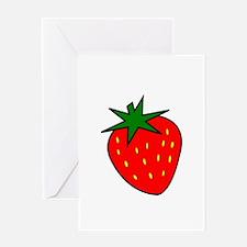 Cute Strawberry Greeting Card