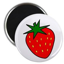 "Cute Strawberry 2.25"" Magnet (10 pack)"