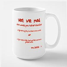 Vet vs Med Horse alt Mug