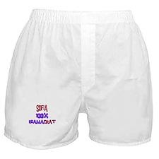 Sofia - 100% Obamacrat Boxer Shorts