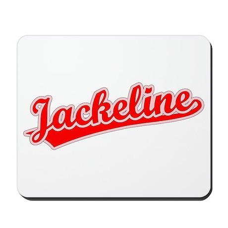 Retro Jackeline (Red) Mousepad