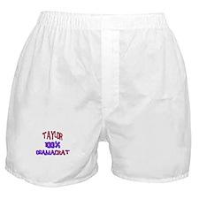 Taylor - 100% Obamacrat Boxer Shorts