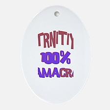 Trinity - 100% Obamacrat Oval Ornament