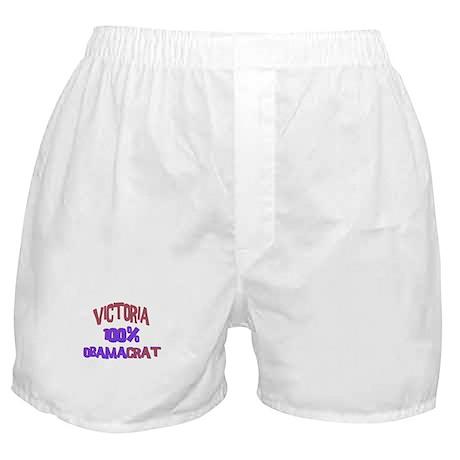 Victoria - 100% Obamacrat Boxer Shorts