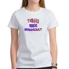 Thomas - 100% Obamacrat Tee