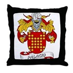 Palacio Family Crest Throw Pillow