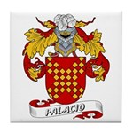 Palacio Family Crest Tile Coaster