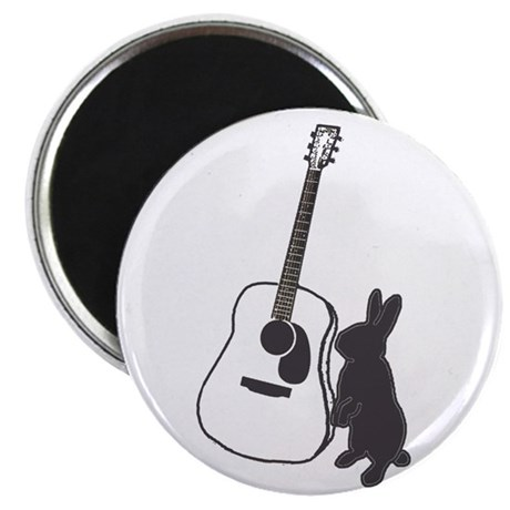 bunny & guitar Magnet