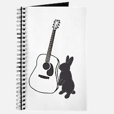 bunny & guitar Journal
