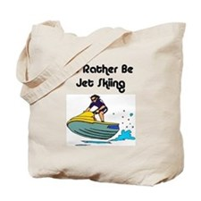 1590 I'd Rather be Jet Skiing Tote Bag