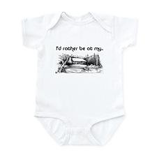 1580 I'd Rather be at the Cab Infant Bodysuit