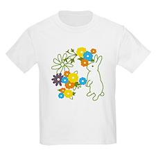 flower bunny T-Shirt