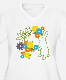 flower bunny T-Shirt