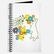 flower bunny Journal