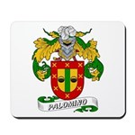 Palomino Family Crest Mousepad