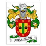 Palomino Family Crest Small Poster