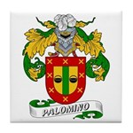 Palomino Family Crest Tile Coaster