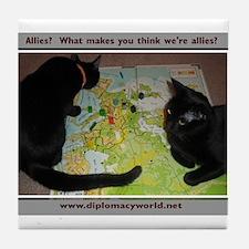 Allies Tile Coaster