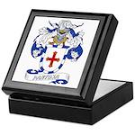 Pantoja Family Crest Keepsake Box