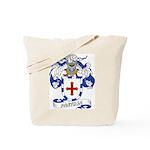 Pantoja Family Crest Tote Bag