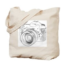 Unique Camera Tote Bag