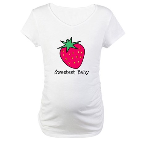 Sweetest Baby Maternity T-Shirt
