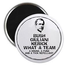 Bush, Giuliani & Kerick Team Magnet