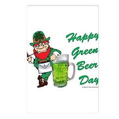 Green Beer Postcards (Package of 8)