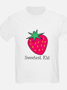 Strawberry Sweetest Kid T-Shirt
