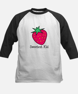 Strawberry Sweetest Kid Kids Baseball Jersey