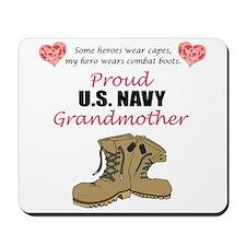 Proud US Navy Grandmother Mousepad