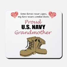 Proud US Navy Grandmother Mousepad