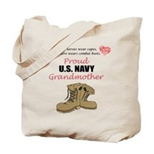 Proud US Navy Grandmother Tote Bag