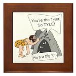 Tylers Lament Framed Tile