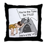 Tylers Lament Throw Pillow