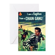"Greeting (10)-""I Am Fugitive From Chain Gang!"