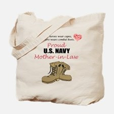 Proud US Navy Mother-in-Law Tote Bag