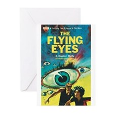 "Greeting (10)-""The Flying Eyes"""