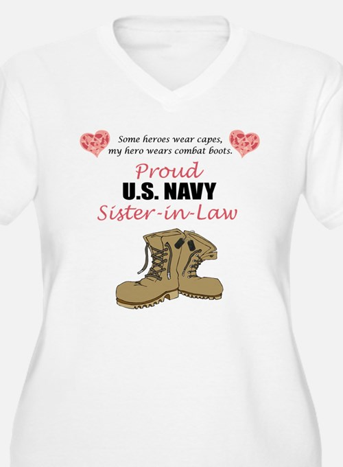 Proud US Navy Sister-in-Law T-Shirt