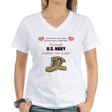 Proud US Navy Sister-in-Law Shirt