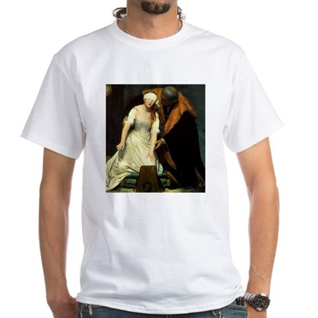 execution of lady jane grey white t shirt execution of lady jane grey shirt. Black Bedroom Furniture Sets. Home Design Ideas