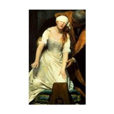 Execution of Lady Jane Grey Rectangle Decal