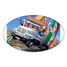 NAFTA Truck Oval Decal