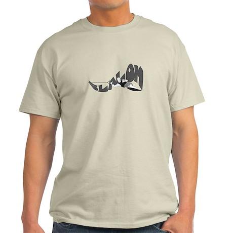Slalom Skier Light T-Shirt