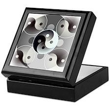 Four Yin and Yangs Keepsake Box